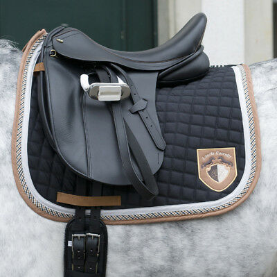 Saddle cloth -Valence- by HKM - 2498 RRP $79.95 in black, camel, white