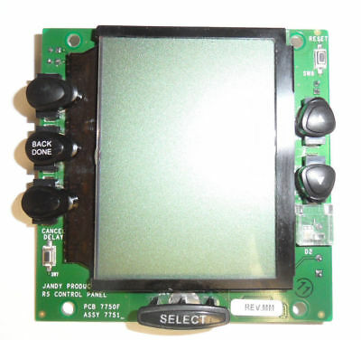Jandy AquaLink LCD PCB Replacement for WIRELESS Remote RS OneTouch 7750F 7751