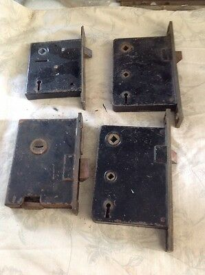 Lot of 4 Box Locks