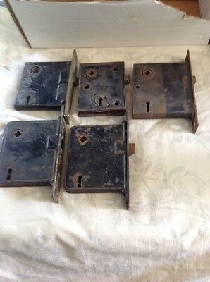 Lot of 5 Box Locks