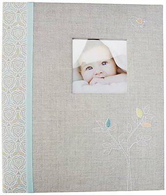 C.R. Gibson Loose Leaf Memory Book, Linen Tree