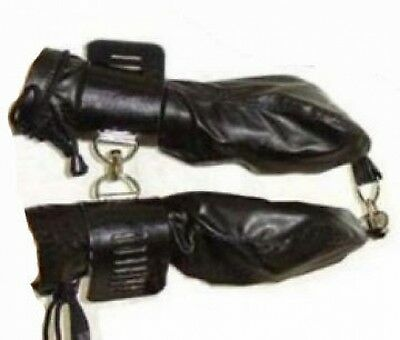 Leather Cuff Restraints Suspension Fist With Locks FE H419