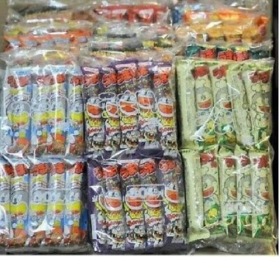 From Japan,Umaibo Corn Puffed Snack,120pcs,3 Your Favorite Flavors,1 Random