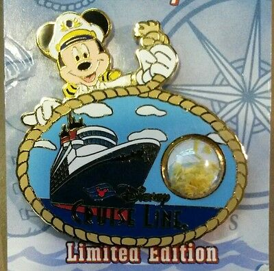 Disney Cruise Line Pin Dcl Piece Of History  Wonder Mooring Rope Le 750 Mickey