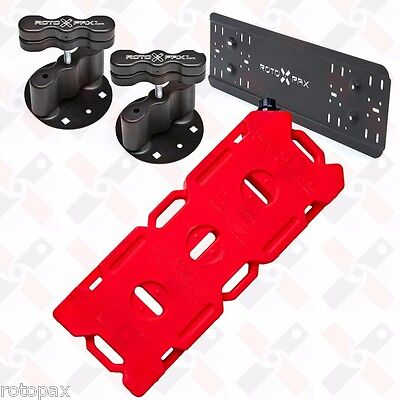 Rotopax 4 Gallon Gas Pack Fuel Pack Mounts Mounting Plate Gerry Can Offroad Fuel