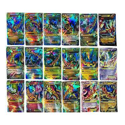 Pokemon EX Card All MEGA Holo Flash Trading Cards Charizard Venusaur 18 Pcs/Lot