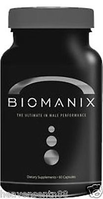 Biomanix - THE BEST Male Enhancement BIG Penis Grow Bigger Harder Larger LOT 2