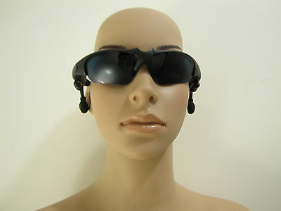 Wireless Motorcycle Glasses Bluetooth MP3 Sun Glasses Headset For Cell Phone