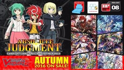 Cardfight!! Vanguard G-BT08 Link Joker common set (4 of each card)