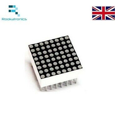 Mini 8 X 8 LED Dot Matrix Display 2cm Red 16 Pin 788BS Common Anode for Arduino