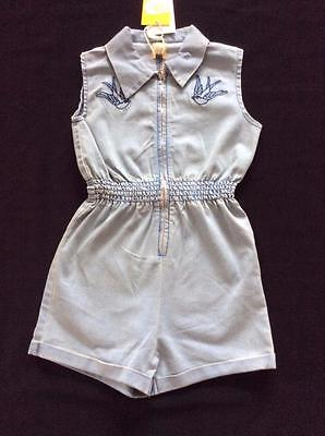 Rock Your Baby-Swallows Jumpsuit Size 6 & 8