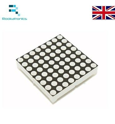 8 X 8 LED Dot Matrix 3.75mm Common Anode Red-Green Double Colour LED Display
