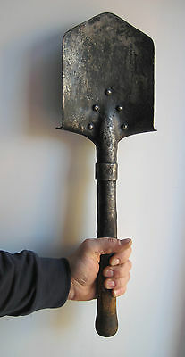 "1941 Stamped Red Army (""rkka"") Trench Shovel / Ww2"