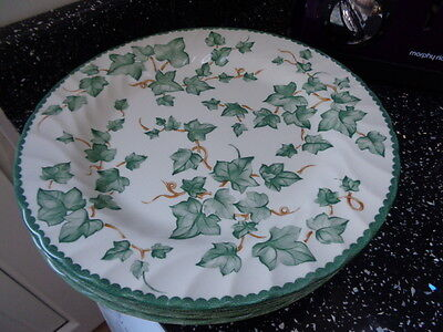 Bhs Country Vine Dinner Plates X 6 - No Back Stamp