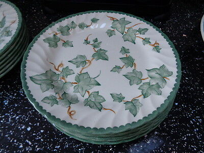 Bhs Country Vine Salad  Plates X 4 - No Back Stamp