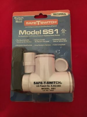 RECTORSEAL SAFE-T-SWITCH MODEL SS1 CONDENSATE OVERFLOW SHUT OFF-SWITCH No. 97632