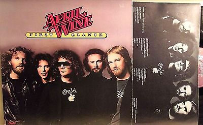 Lp-April Wine-First Glance-U.s.a. 1978-Hard Rock