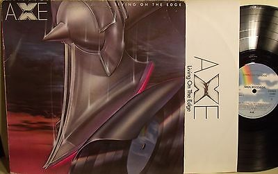 Lp-Axe-Living The Edge-Germania 1980-