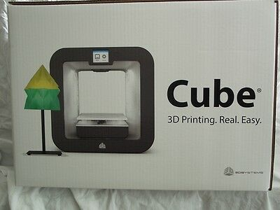 3D Systems Cube 3D Wireless Printer 3rd Generation Grey FREE PRIORITY SHIPPING