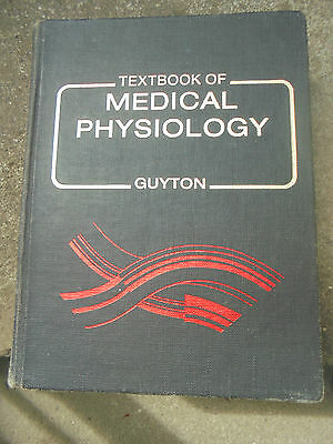 Vintage 1981 Textbook Of Medical Physiology By Guyton