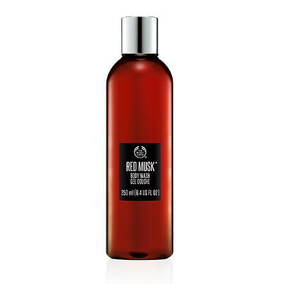 New The Body Shop Red Musk Shower Gel 250 ml