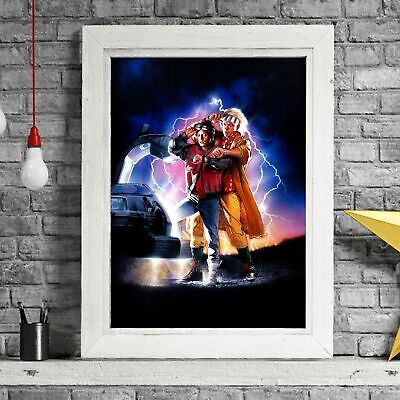 BACK TO THE FUTURE 2 - Movie Poster Picture Print Sizes A5 to A0 **FREE DELIVERY