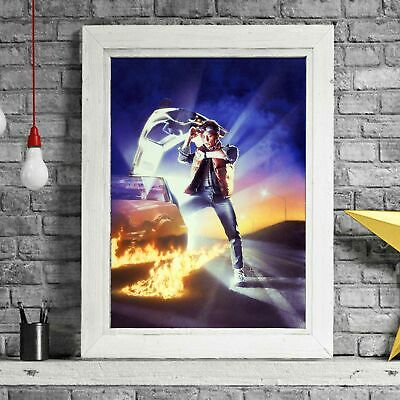 BACK TO THE FUTURE - Movie Poster Picture Print Sizes A5 to A0 **FREE DELIVERY**