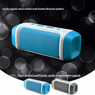 NEW Strong Bass Bluetooth Wireless Speaker TF USB Slot FM Aux JY-23 MP3 Player