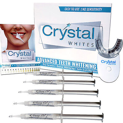 Crystal Whites Home Teeth Whitening Professional Kit for all