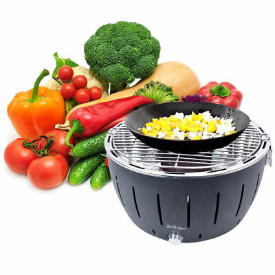Indoor/Outdoor Portable Nearly Smokeless Charcoal BBQ Barbecue Grill/Cooktop