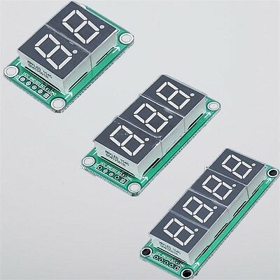 74HC595 Static Driving 2/3/4 Digit Segment 0.5 Inches Red Digital Display Module