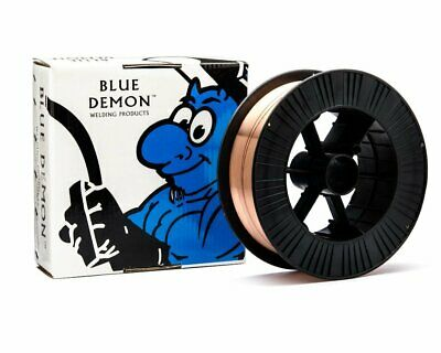 Gasless Mig Welding Wire 0.9mm 11.5kg Spool - E71T-11 - BLUE DEMON - Made in USA