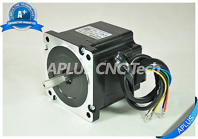 NEMA 34 Stepper Motor, 78mm 594oz-in 5.6A 8Leads, for CNC Router Mill Plasma