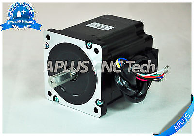 NEMA 34 Stepper Motor, 98mm 920oz-in 5.6A 8Leads, for CNC Router Mill Plasma