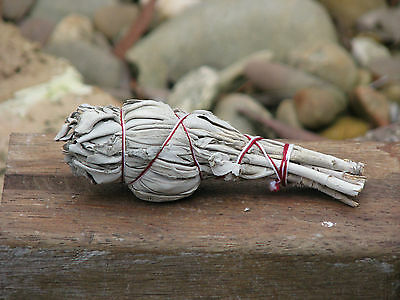 Californian White Sage Stick, Smudging, Clearing, Rituals, Peace & Balance