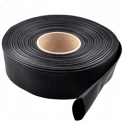 Black Heatshrink 2:1 Tube Tubing Sleeve Sleeving Heat Shrink Wrap Cable Φ100mm