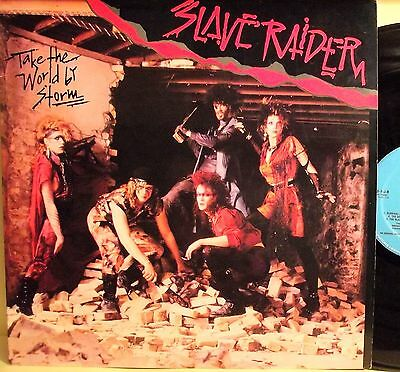 "Lp-Slave Raider-""take The World By Storm""-U.s.a. 1988"