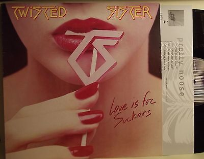 Lp-Twisted Sister-Love Is For Suckers-Italia 1996