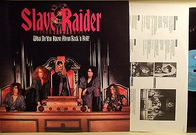 Lp-Slave Raider-What Do You Know About Rock'n Roll?