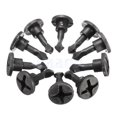 5PCS Engine Appearance Cover Pin Trim Cover Clip For Audi A4 A6 VW N90642001 MA