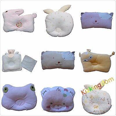 Newborn Baby Sleeping Support Positioner Prevent Flat Head Cot Pillow Cushion