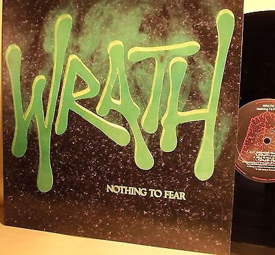 Lp-Wrath-Nothing To Fear-Olanda 1987-N.mint/n.mint