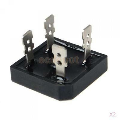 2x 1000V 50A GBPC5010 Diode Bridge Rectifier AC to DC New