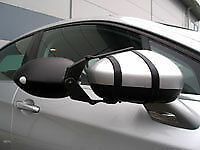 Milenco Safety Plus Towing Mirror Twin Flats