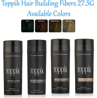NEW TOPPIK 27.5g Hair Loss Building Fibers ALL Colors > Caboki - FREE Returns