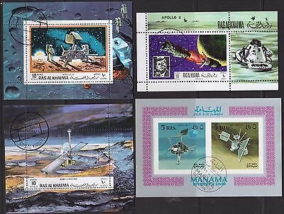 Apollo and Space stamps and mini-sheets, lot 0017