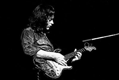 Rory Gallagher Blues and Rock Guitarist Glossy Photo Music Print Picture A4