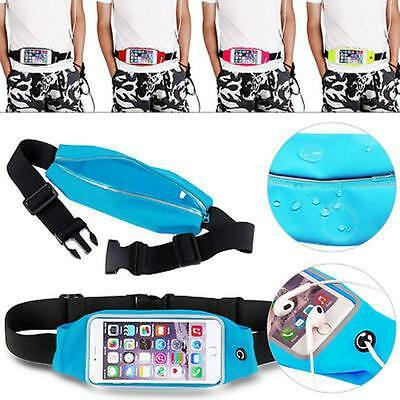 Waterproof Screen Touch Running Belt Waist Fanny Pack Pouch Bag Smartphone CasCO