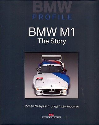 BMW M1, the Story VERY RARE book ENGLISH LANGUAGE EDITION