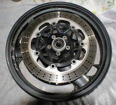 Kawasaki ZX750 98 J17XNT3.50 Front Wheel and Discs  Used